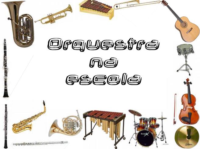 Orquestra na escola
