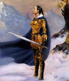 A woman in arms