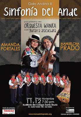 manuelcha prado, amanda portales, orquesta seleccion del centro de atilio moreno