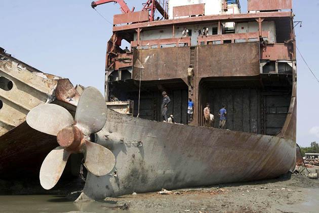 Bangladesh Watchdog Hidden Shame Of Ship Breaking Industry