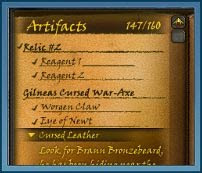 Das Archäologie Questlog