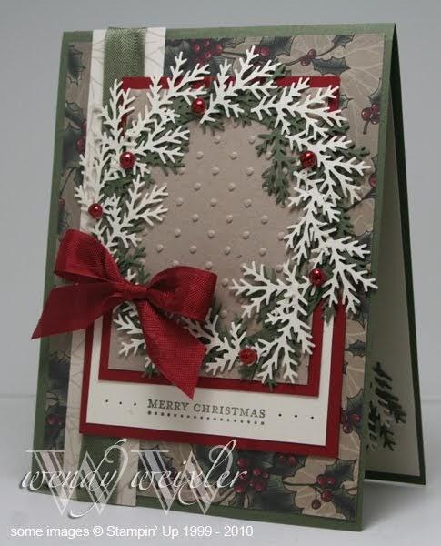 Wickedly wonderful creations jingle jangle jingle for Elegant christmas card ideas