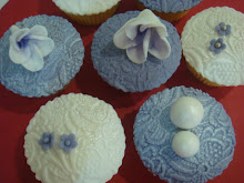 Lavender cupcakes
