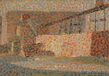 Paisaje, Óleo s/tabla, 12 x 16