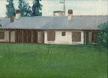 Paisaje, Óleo s/tela, 35 x 35