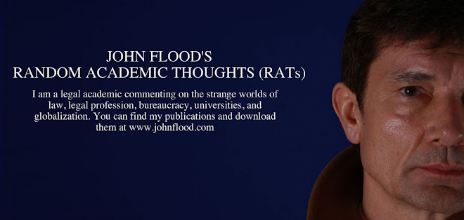 John Flood&#39;s Random Academic Thoughts (RATs)