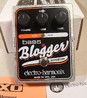 eh bblogger Electro Harmonix Bass Big Muff Pi and Bass Blogger Fuzz/Distortion in stock!
