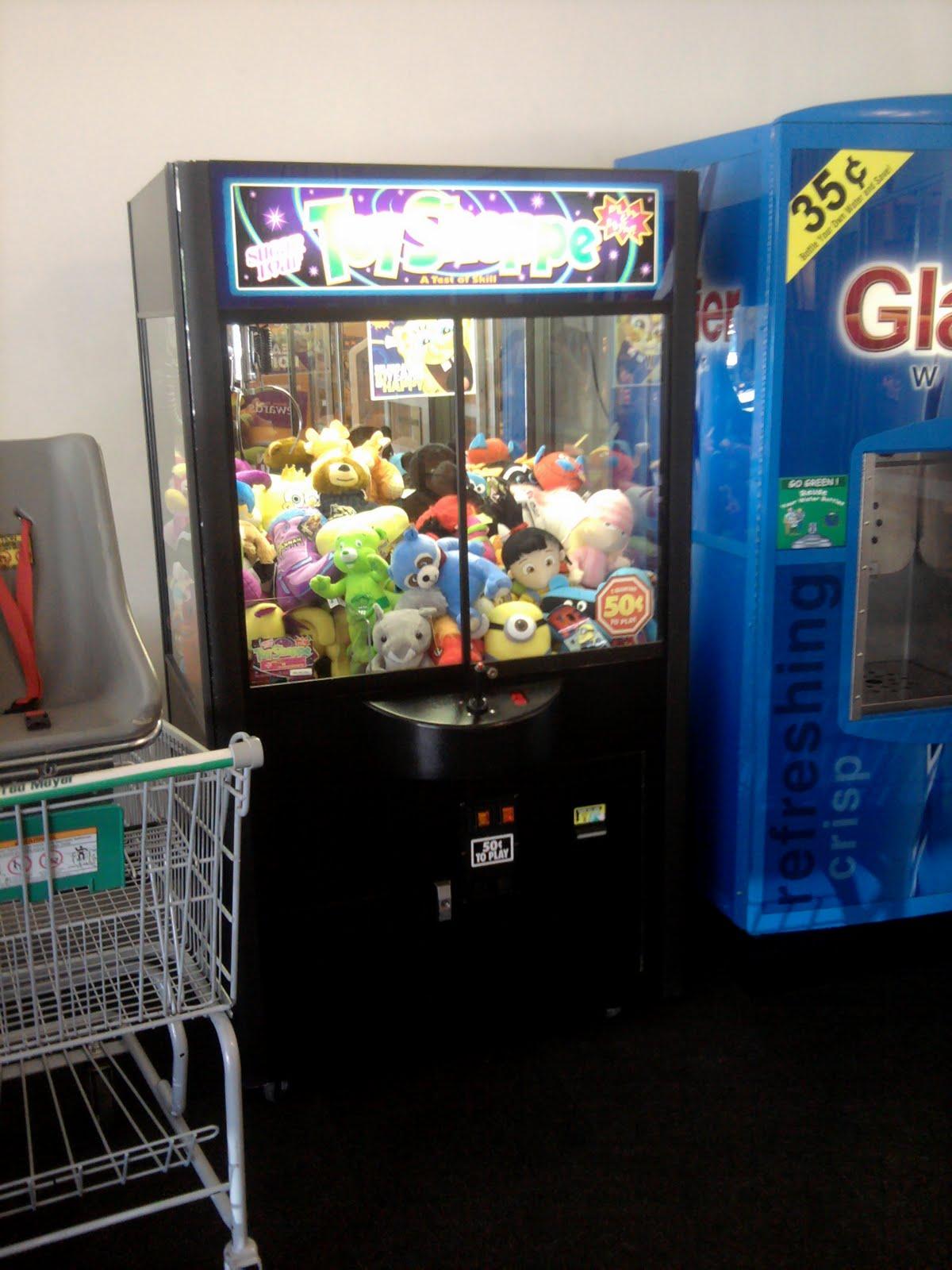 funko pop claw machine locations