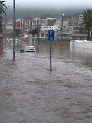 Road in Camps Bay