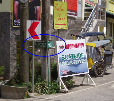 Intersection Tagaytay Calamba Road Ligaya Drive