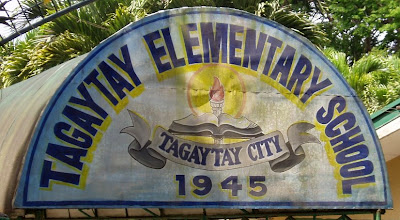 Intersection Tagaytay Calamba Road Ligaya Drive Tagaytay Elementary School