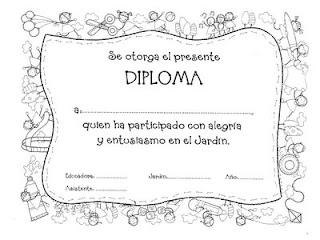 Moldes De        Diplomas         Escolares