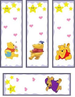 Dibujos A C         Pooh Y Sus Amigos         Separadores Marcadores