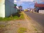 Trotoar Rusak di Tengah Kota Bajawa
