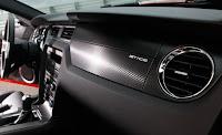 2011 Ford Mustang V-6 sports car interior dashboard