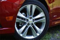 2011 Chevy Cruze auto show wheel view
