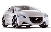 2011 Honda CR-Z futuristik dan sporty front view