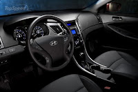 2011New  Hyundai Sonata (base price $19,195) interior dashboard