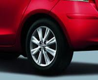 2010 Toyota Yaris Sport  review wheel view