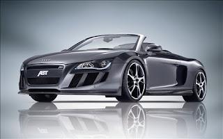 2010 Audi R8 Spyder sport body