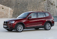 BMW X3 2011 Pictures  Present at Internet side view