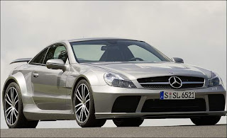 New Mercedes Benz SL65 AMG Black Series and price front view