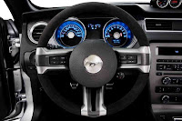 2012 Ford  Mustang Boss 302 interior view
