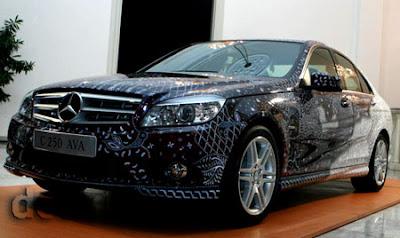 2010 Mercedes C250 CGI clad Batik Indonesia front view