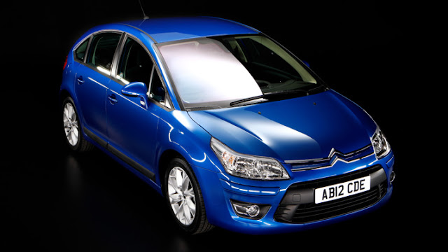 Citroen C4 Facelift  Introduced in Paris Auto Show