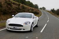 2011 Aston Martin DB9 mild concept front view road race