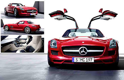 2011  Mercedes-Benz SLS AMG power front view