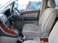 2011 Toyota Alphard with Queens of The Magical interior view