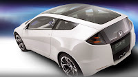 Honda CR-Z Concept Car is Environmentally Friendly back view
