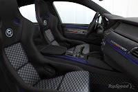 G Power X6 Typhoon RS Concept seat view
