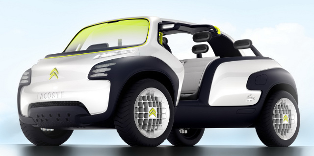 Citroen Lacoste Concept on Paris Preshow