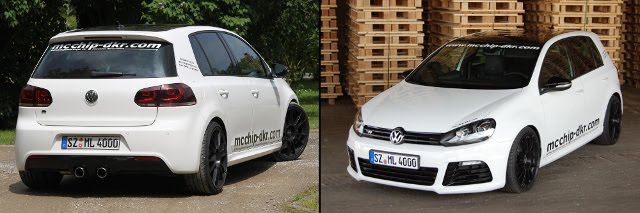 The touch-DKR Mcchip Improve Performance VW Golf R