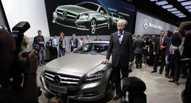 2011 Mercedes-Benz CLS First appearance in Paris show