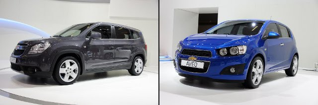 2011 Chevrolet Launches 4 New Vehicles syle model