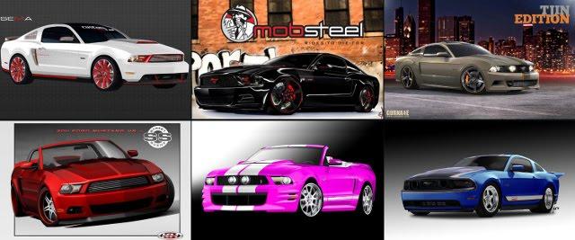 2011 9 Types of Type  Ford Mustang At SEMA screen shoot