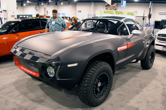The New Rally Fighter di SEMA front view