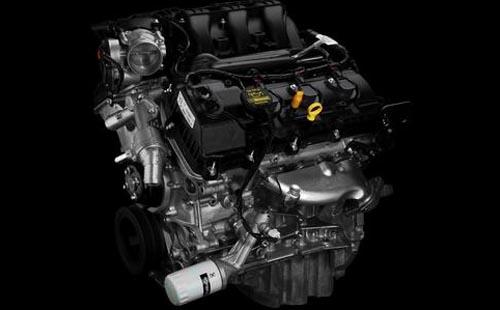 New Machine chock Ford F-150 Alert 2011 engine view