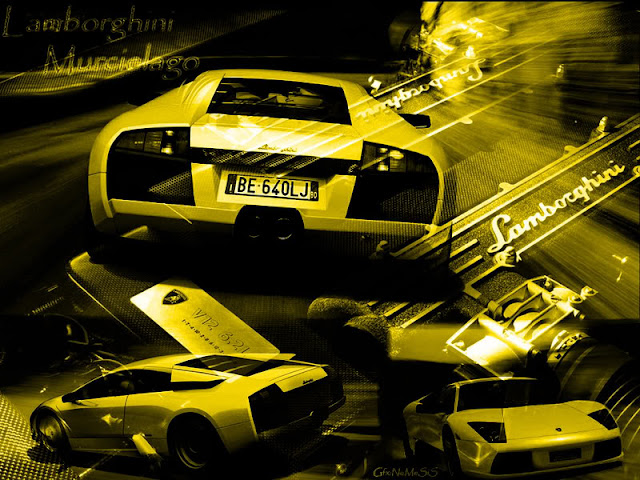 Lamborghini Wallpaper yellow