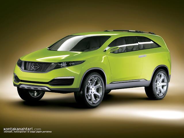 Kia Wallpaper green concept