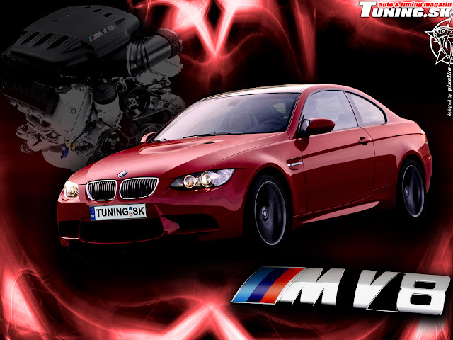 BMW wallpaper red grafiti
