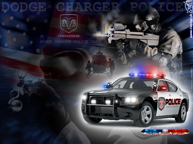 Dodge Wallpaper police edition