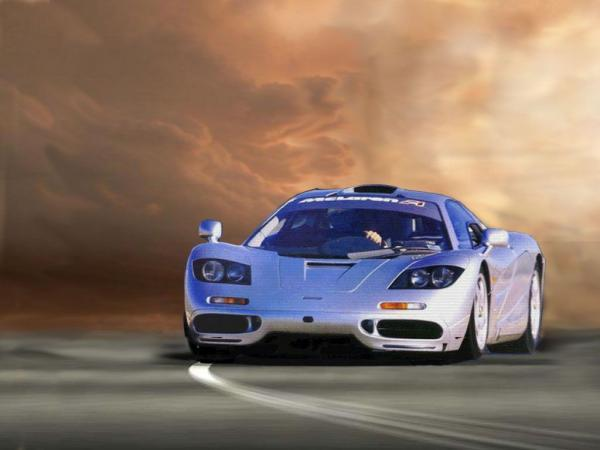 McLaren Wallpaper front view