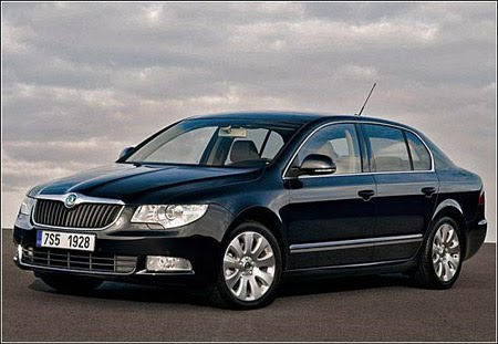 Skoda Superb will be touring the body