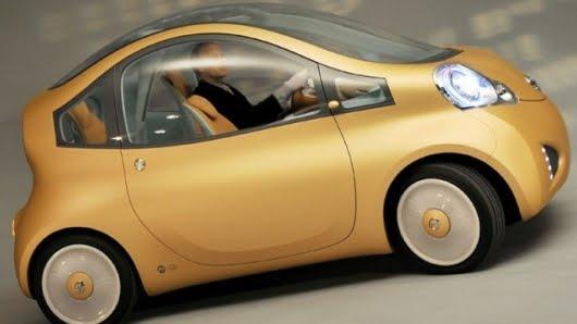 2011 Nissan electric car Concept Tecnology