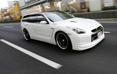 2011 New Nissan Stagea wagon is available in Japan