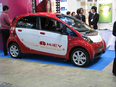 2011 Mitsubishi Release Electric Vehicles The Electric i-Miev